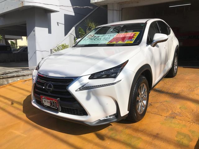 沖縄の中古車 レクサス NX 車両価格 365万円 リ済込 2016(平成28)年 1.0万km パールホワイト