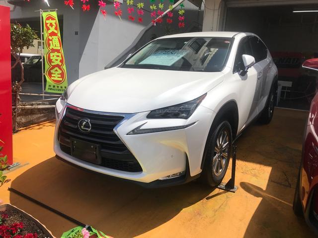 沖縄の中古車 レクサス NX 車両価格 298万円 リ済込 2015(平成27)年 4.6万km パールホワイト