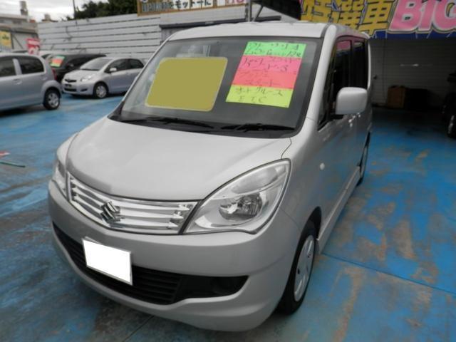 沖縄の中古車 スズキ ソリオ 車両価格 58万円 リ済込 平成25年 6.3万km シルバー