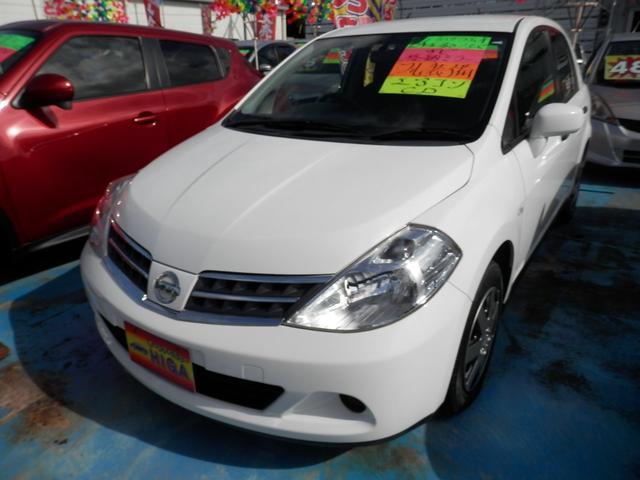 沖縄の中古車 日産 ティーダラティオ 車両価格 39万円 リ済込 2012(平成24)年 4.0万km ホワイト