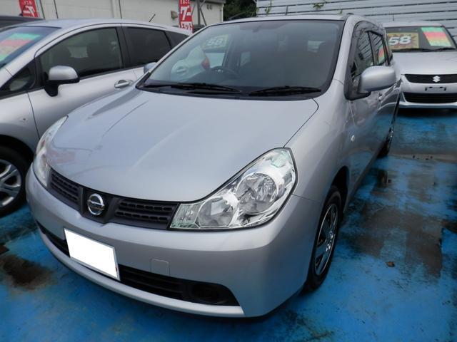 沖縄の中古車 日産 ウイングロード 車両価格 55万円 リ済込 平成25年 5.8万km シルバーM