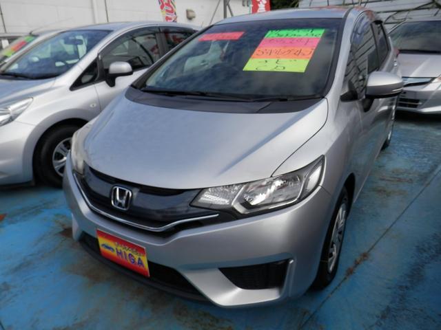 沖縄の中古車 ホンダ フィット 車両価格 73万円 リ済込 2013(平成25)年 2.0万km シルバーM