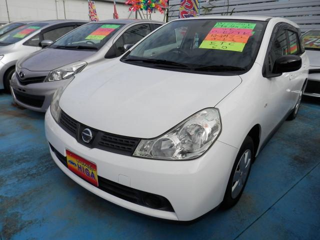 沖縄の中古車 日産 ウイングロード 車両価格 45万円 リ済込 2012(平成24)年 5.4万km ホワイト