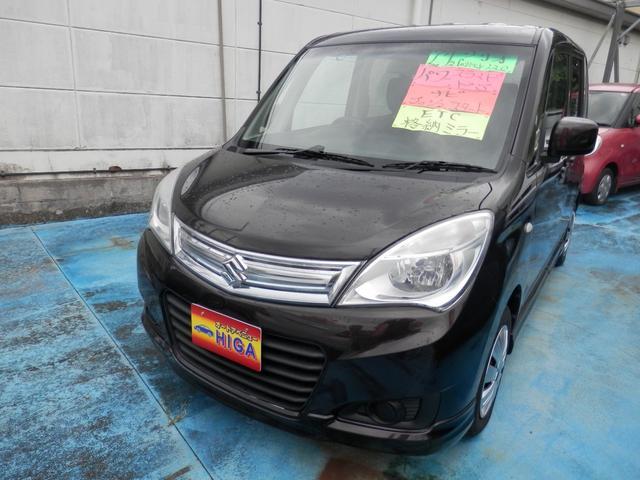 沖縄の中古車 スズキ ソリオ 車両価格 55万円 リ済込 2015(平成27)年 6.6万km ブラウンM