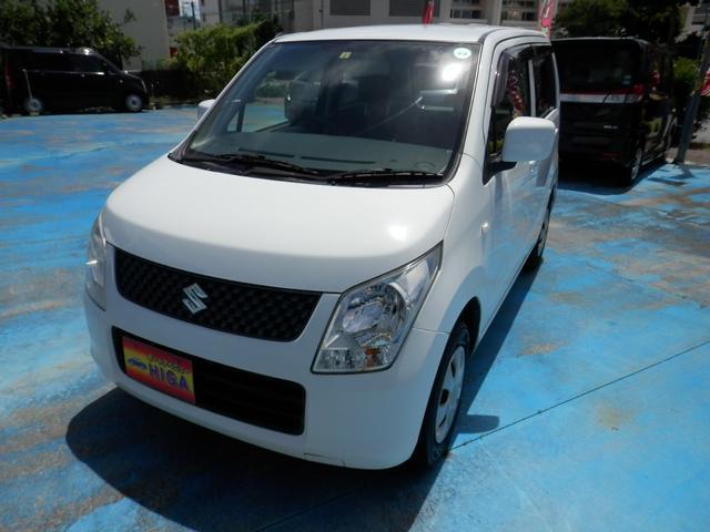 沖縄の中古車 スズキ ワゴンR 車両価格 35万円 リ済込 2011(平成23)年 5.1万km ホワイト