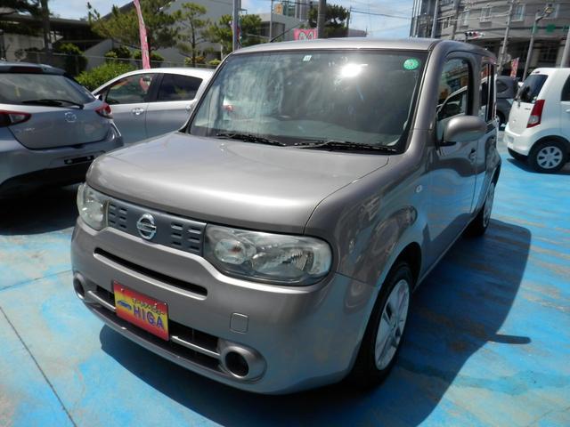沖縄の中古車 日産 キューブ 車両価格 43万円 リ済込 2012(平成24)年 7.5万km ゴールドM