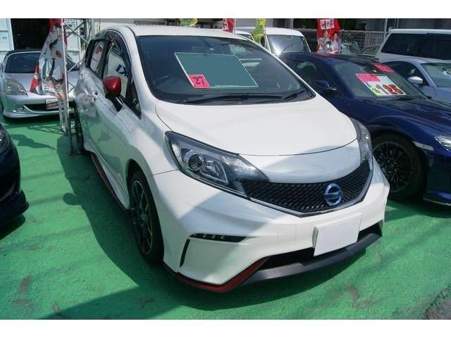 沖縄の中古車 日産 ノート 車両価格 116万円 リ済込 平成27年 5.8万km パール