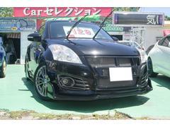 沖縄の中古車 スズキ スイフトスポーツ 車両価格 118万円 リ済込 平成24年 9.8万K ブラックM