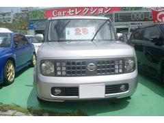 沖縄の中古車 日産 キューブ 車両価格 19万円 リ済込 平成15年 12.7万K シルバー