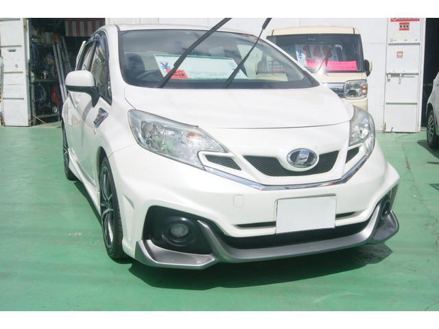 沖縄の中古車 日産 ノート 車両価格 106万円 リ済込 平成25年 8.7万km パール