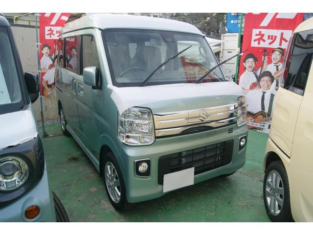 沖縄県の中古車ならエブリイワゴン PZターボ ハイルーフ・5年間保証付
