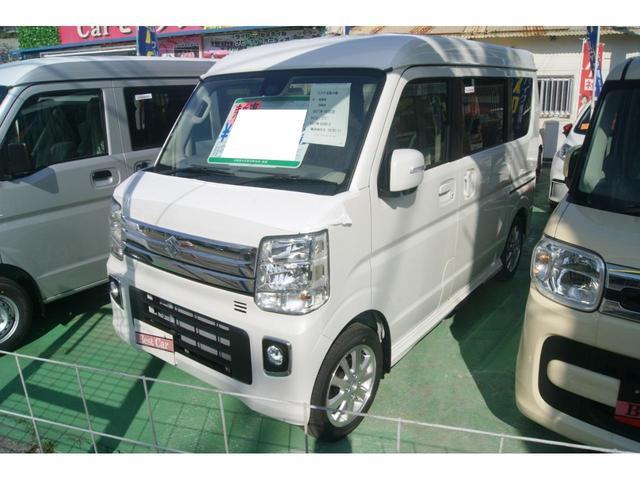 沖縄の中古車 スズキ エブリイワゴン 車両価格 155万円 リ済込 新車  パール