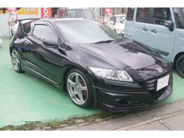 沖縄の中古車 ホンダ CR-Z 車両価格 115万円 リ済込 平成22年 9.9万km ブラック