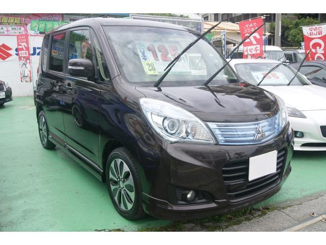 沖縄の中古車 三菱 デリカD:2 車両価格 118万円 リ済込 平成28年 2.5万km ブラウン
