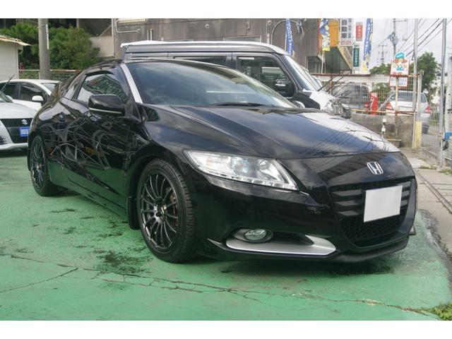 沖縄県の中古車ならCR-Z α 社外アルミ・車高調・年間保証付(長期延長も可能です)