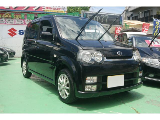 沖縄の中古車 ダイハツ ムーヴ 車両価格 12万円 リ済込 2004(平成16)年 12.4万km ブラック