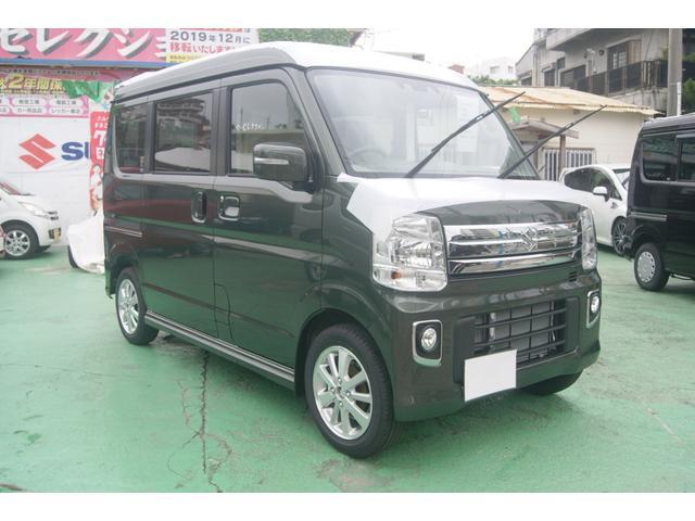 沖縄県の中古車ならエブリイワゴン PZターボスペシャル・ハイルーフ(令和1年7月新型)