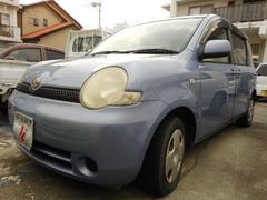 沖縄の中古車 トヨタ シエンタ 車両価格 25万円 リ済込 平成15年 11.8万K パープル