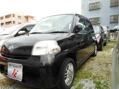 沖縄の中古車 ダイハツ エッセ 車両価格 31万円 リ済込 平成20年 10.2万K ブラック