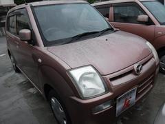沖縄の中古車 マツダ キャロル 車両価格 25万円 リ済込 平成19年 8.3万K ピンク