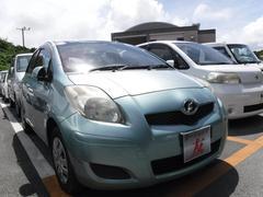 沖縄の中古車 トヨタ ヴィッツ 車両価格 29万円 リ済込 平成20年 7.8万K グリーン