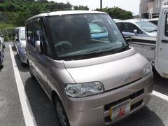 沖縄の中古車 ダイハツ タント 車両価格 27万円 リ済込 平成18年 7.2万K ピンク