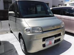 沖縄の中古車 ダイハツ タント 車両価格 25万円 リ済込 平成17後 11.5万K ゴールド