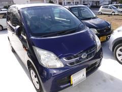 沖縄の中古車 ダイハツ ムーヴ 車両価格 27万円 リ済込 平成19年 4.5万K ブルー