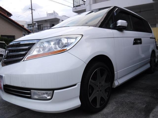 沖縄県の中古車ならエリシオンプレステージ SG HDDナビスペシャルパッケージ