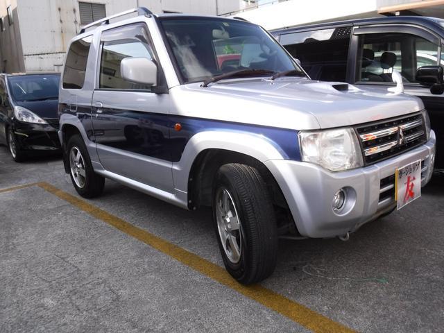 沖縄県の中古車ならパジェロミニ ナビエディションVR 切変4WD インタークーラー 2年保証