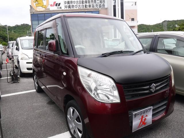 沖縄県の中古車ならパレット X プッシュスタートスマートキー左パワースライドドア2年保証
