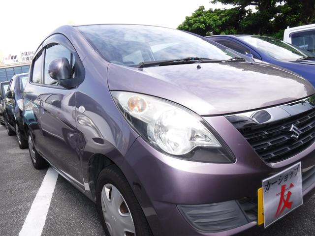 沖縄の中古車 スズキ セルボ 車両価格 27万円 リ済込 2007(平成19)年 10.6万km ライトパープル