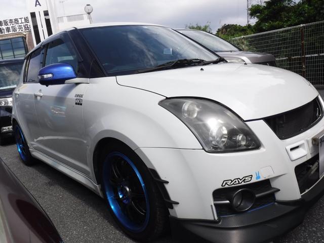 沖縄県の中古車ならスイフト スポーツ Sリミテッド  MT車  2年保証 社外シート