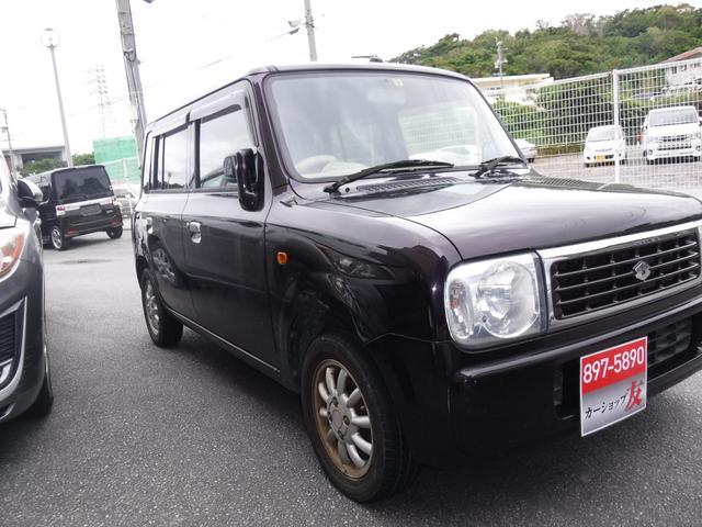 沖縄の中古車 スズキ アルトラパン 車両価格 31万円 リ済込 2008(平成20)年 10.5万km パープル
