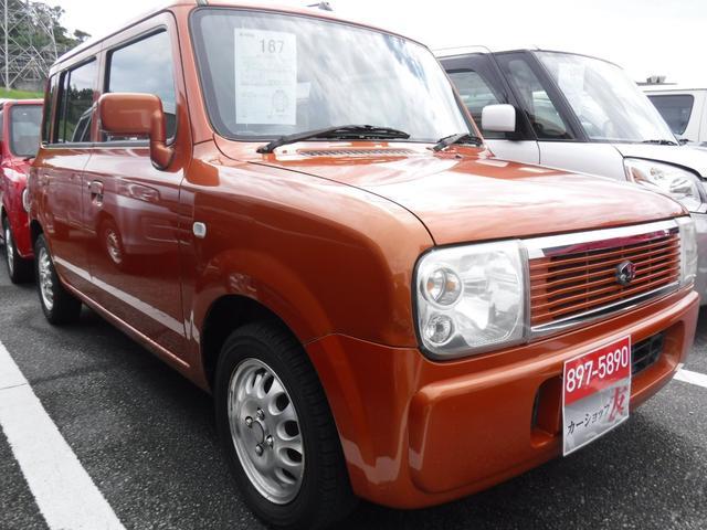 沖縄の中古車 スズキ アルトラパン 車両価格 29万円 リ済込 2005(平成17)後 8.2万km オレンジ
