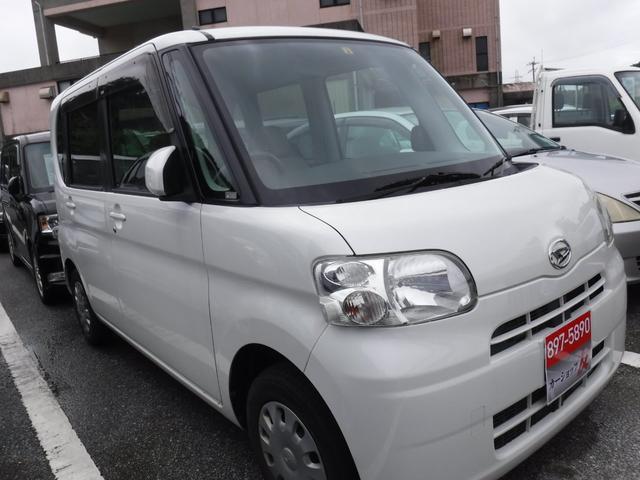 沖縄の中古車 ダイハツ タント 車両価格 28万円 リ済込 2008(平成20)年 10.2万km パール