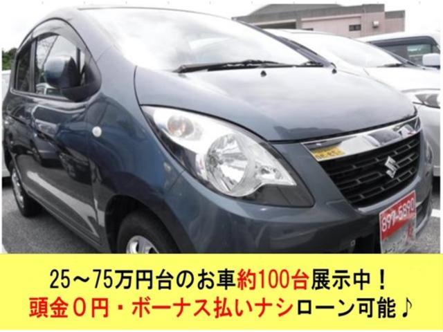 沖縄の中古車 スズキ セルボ 車両価格 25万円 リ済込 2007(平成19)年 10.2万km グレーII