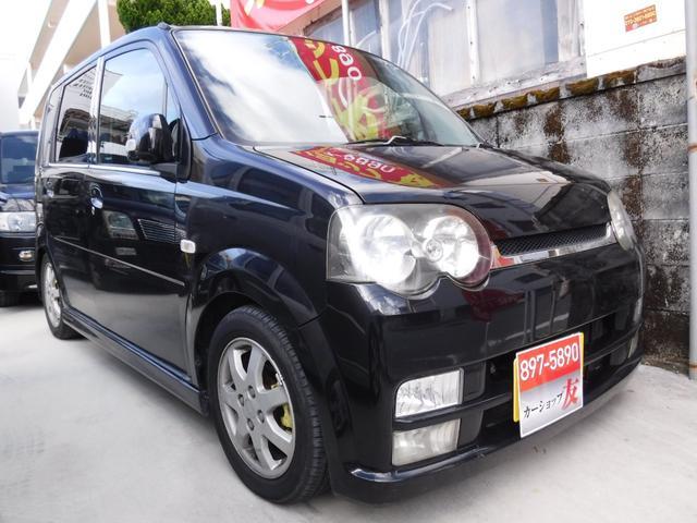 沖縄県の中古車ならムーヴ RSHDDナビインタークーラーターボ