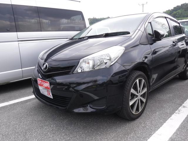 沖縄県の中古車ならヴィッツ 社外フルセグナビDVD ETC社外アルミ16インチ