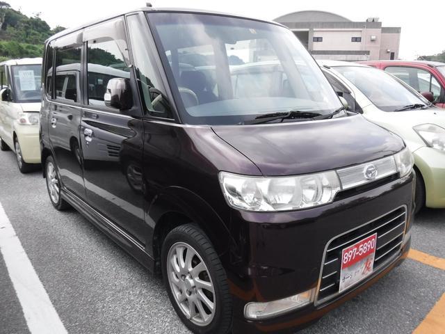 沖縄県の中古車ならタント カスタム キーレス ウィンカーミラー