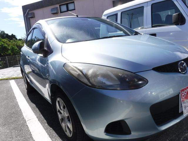 沖縄県の中古車ならデミオ 2年保証 キーレス
