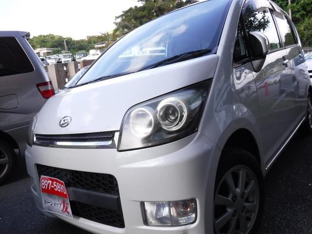 沖縄県の中古車ならムーヴ カスタム XC エディシ2年保証スマートキーウィンカーミラ