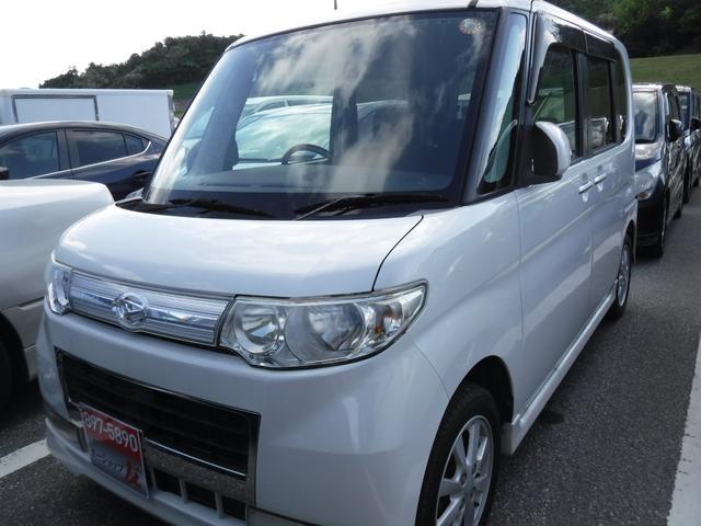 沖縄県の中古車ならタント カスタムXリミテッド 2年保証 パワースライドドア キーレス