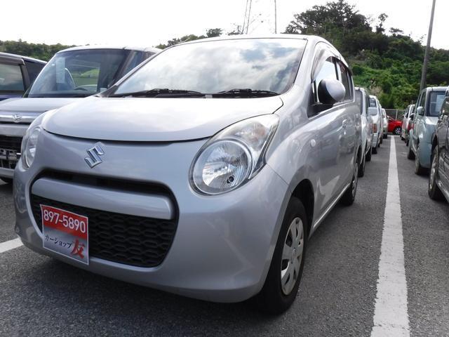 沖縄県宜野湾市の中古車ならアルト 2年保証 キーレス