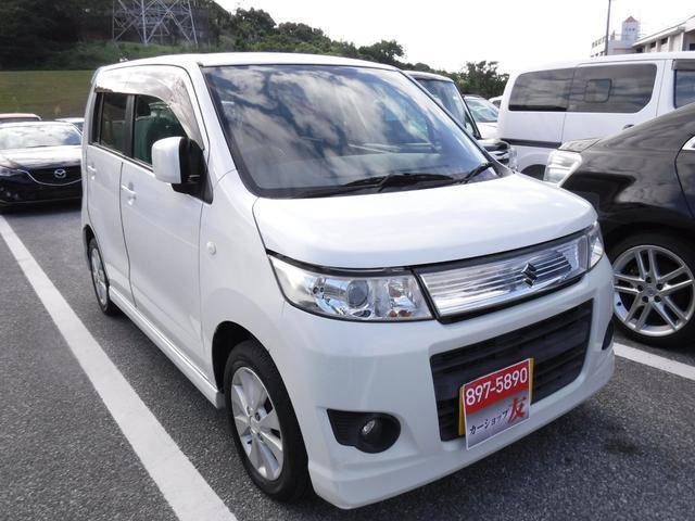 沖縄県の中古車ならワゴンRスティングレー X 2年保証 スマートキー プッシュスタート