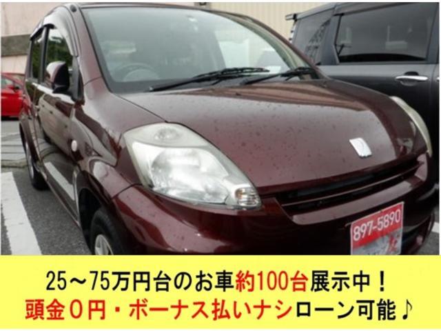 沖縄の中古車 トヨタ パッソ 車両価格 25万円 リ済込 2010(平成22)年 7.5万km ブラウン