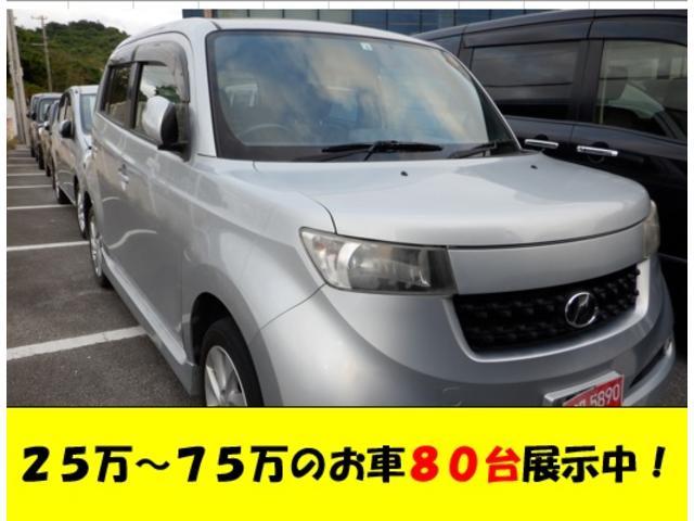 沖縄の中古車 トヨタ bB 車両価格 29万円 リ済込 2012(平成24)年 9.9万km シルバーM