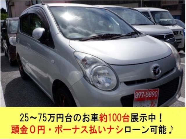 沖縄の中古車 マツダ キャロル 車両価格 29万円 リ済込 2010(平成22)年 5.9万km シルバー