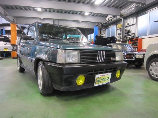 沖縄の中古車 フィアット フィアット パンダ 車両価格 37.6万円 リ済別 1995(平成7)年 12.7万km DグリーンII