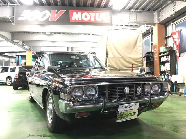 沖縄の中古車 トヨタ クラウン 車両価格 74万円 リ済別 1973(昭和48)年 8.4万km ブラック
